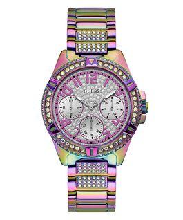 Purple Case Purple Stainless Steel Watch  large